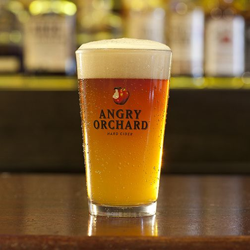 April Cider of the  Month- Angry Orchard only $5!