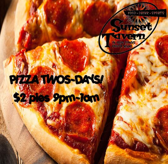 Pizza Twos-Days!