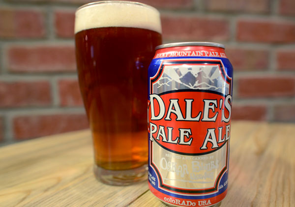 September 2019 Draft of the Month ~ Dale's Pale Ale $5
