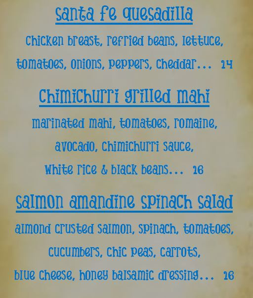Specials for Friday May 26th, 2017
